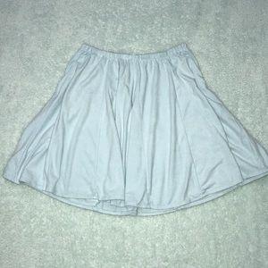 Brandy Melville Tiffany Blue Skirt
